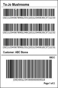 Hybrid Pallet Label