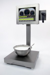 Bench Scale, Screen, Scanner, Bowl